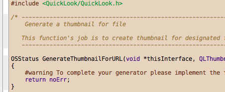 Screenshot of the Humane Theme and Panic Sans 12 point inside Xcode 3