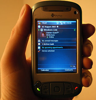 Windows Mobile 6 on the HTC TyTN