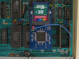 GoSDC installed inside a BBC Micro model B