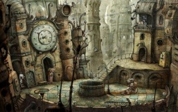 Screenshot of the game Machinarium