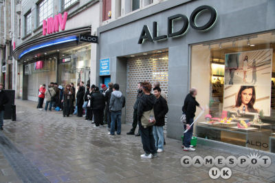 The 'queue' for the PS3 at HMV